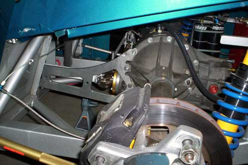 racing suspension car