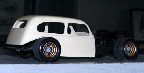 Bandit Resin - 1936 Chevy Sedan Modified - 1/25 Scale Resin Parts