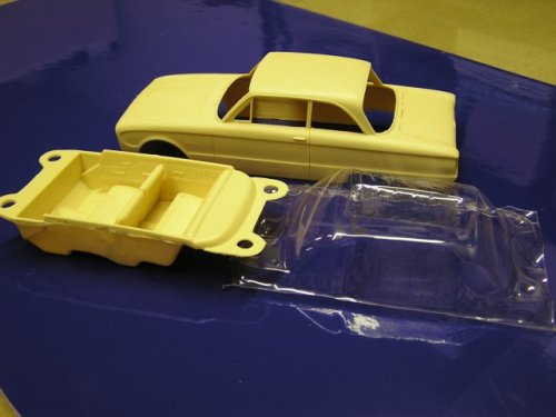 Bandit Resin - 1961 Ford Falcon- 1/25 Scale Resin Parts and
