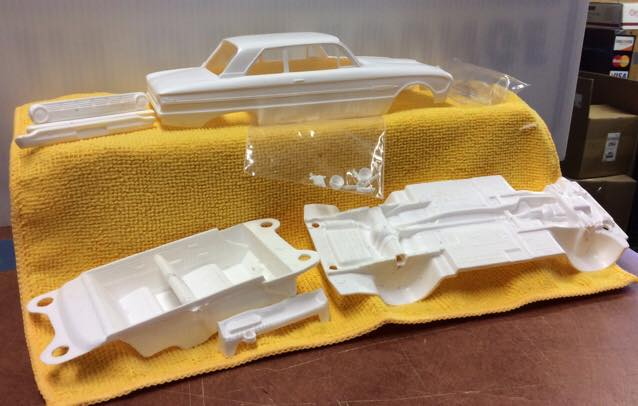 Bandit Resin - 1963 Ford Falcon- 1/25 Scale Resin Parts and